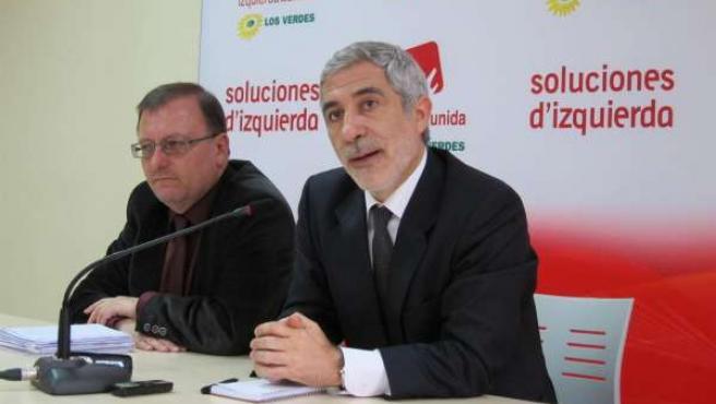 Gaspar Llamazares Y Jesús Iglesias