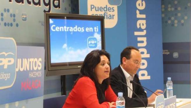Del Cid Y Álvarez, En La Rueda De Prensa