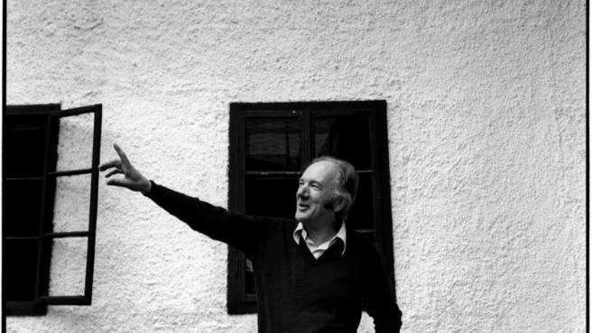 El autor alemán en su casa de Obernatahl, ahora convertida en museo.