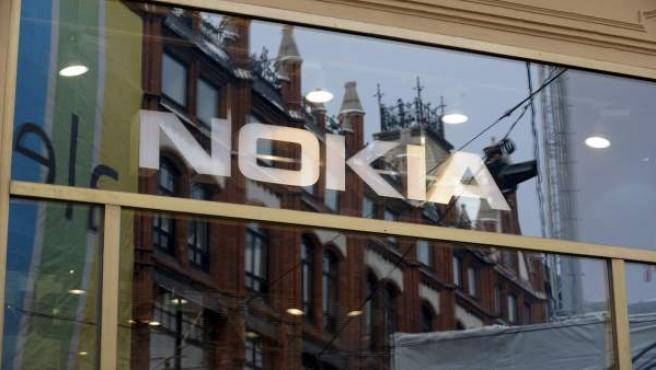 Una tienda de Nokia.
