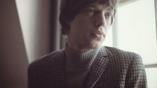 Mick Jagger retratado en 1964 por David Wedgbury. El cantante de los Rolling Stones empezaba a ser un mito.