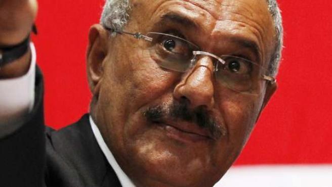 El presidente de Yemen, Ali Abdulá Saleh.