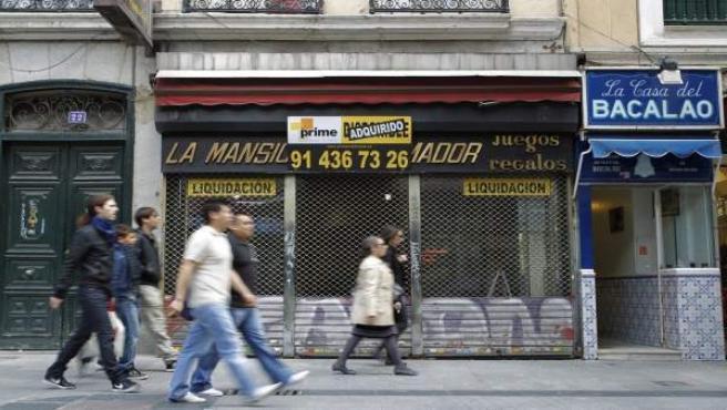 La Mansión del Fumador, en la calle del Carmen, donde se ubicará Doña Manolita a partir de julio.