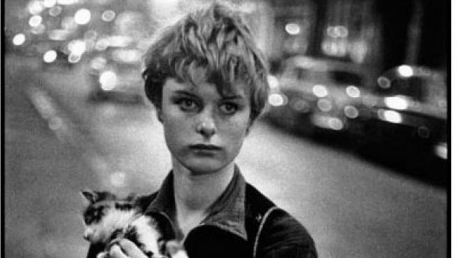 Foto de Bruce Davidson tomada en 1960 en Londres