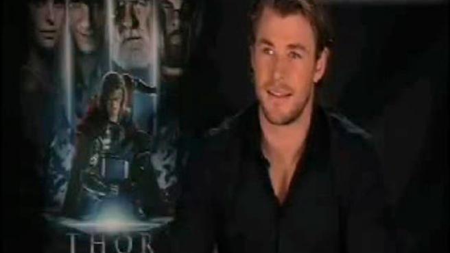 "Chris Hemsworth: ""Me hinché a proteínas para 'Thor"""