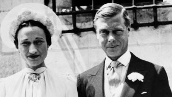 Enlace de Eduardo con Wallis Simpson.
