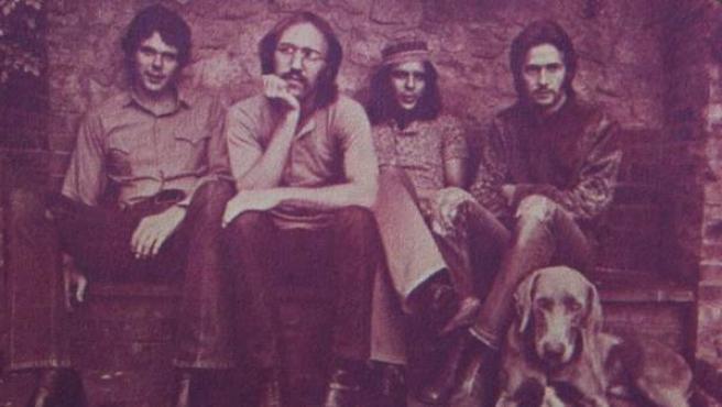 Derek and the Dominos. Desde la izquierda: Jim Gordon, Carl Radle, Bobby Whitlock y Eric Clapton