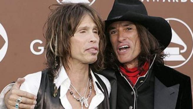 Steven Tyler y Joe Perry.