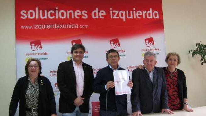 Presentación Del Programa Electoral De Oviedo Por La Izquierda.