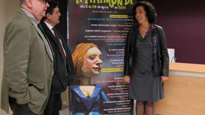 De Izq. A Drch. Mario Pérez, José María Viteri Y Mercedes Cantalapiedra