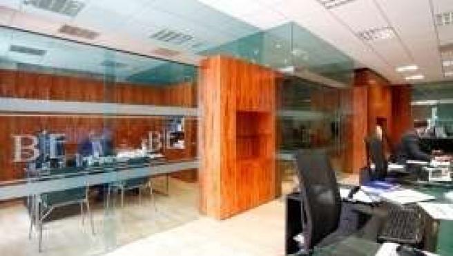 Oficina Del Banco Echeverría