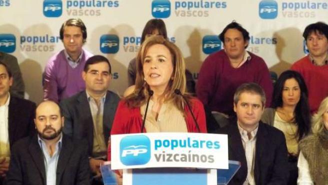 Cristina Ruiz, Candidata Del PP A La Alcaldía De Bilbao
