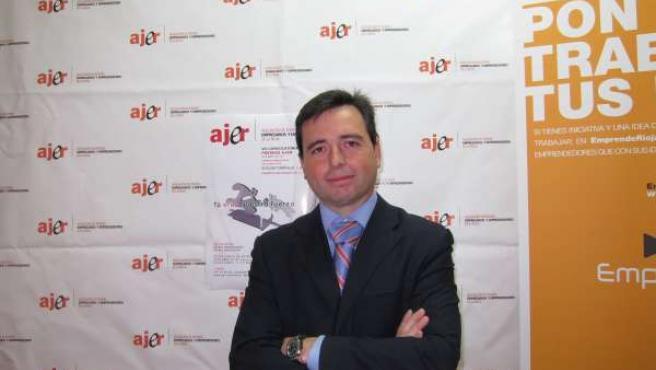 El Presidente De AJER, Angel Martínez Lledó