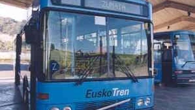 Autobús De Euskotren.