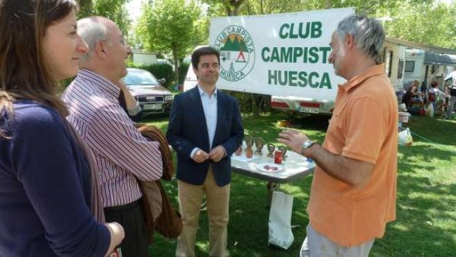 Luis Felipe En El Camping