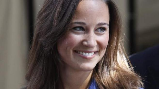 Pippa Middleton, la hermana de la princesa Catalina, regresa a casa.