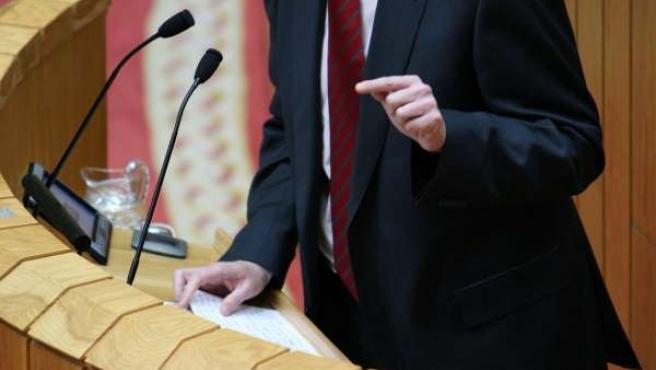 Alfonso Rueda Comparece No Pleno Do Parlamentofotos: Ana Varela 09/02/2010