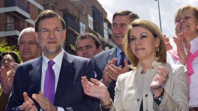 Rajoy Y Cospedal En Guadalajara