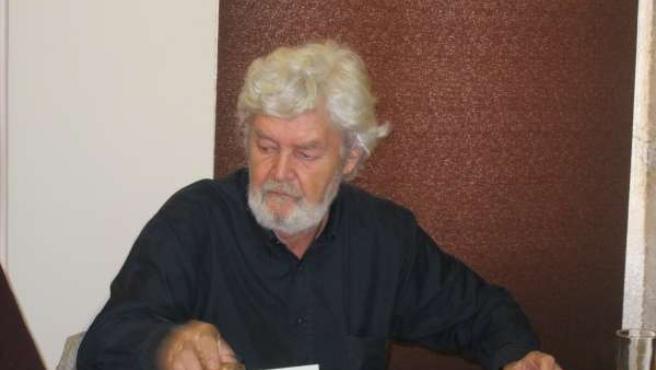 Xosé Manuel Beiras, En Rueda De Prensa