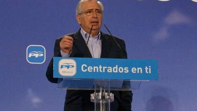 Juan José Imbroda En Un Acto Del PP