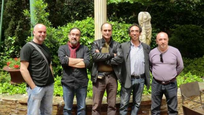 Xabier Díaz (Berrogüeto), Bieto Romero (Luar Na Lubre); Rafael Menéndez (Yunko I