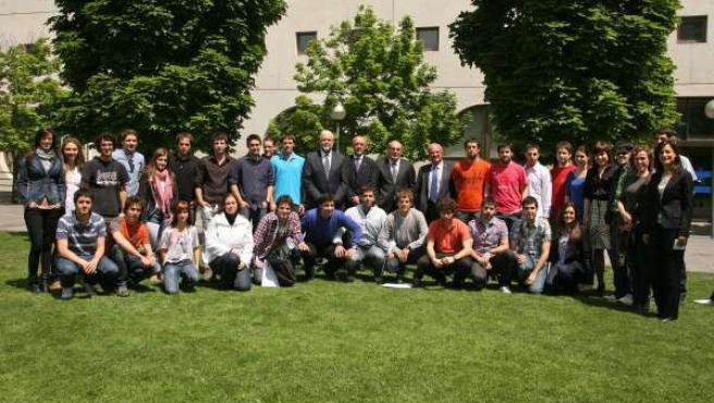 Participantes En El Seminario De Innovación Empresarial De La UPNA.