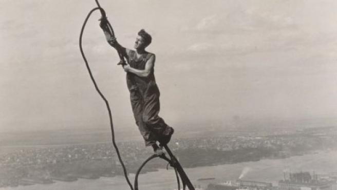 Los trabajos de construcción del Empire State fueron muy rápidos, a un ritmo de cinco pisos por semana
