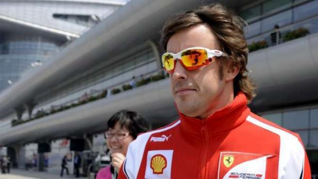El piloto español de Fórmula 1 Fernando Alonso.