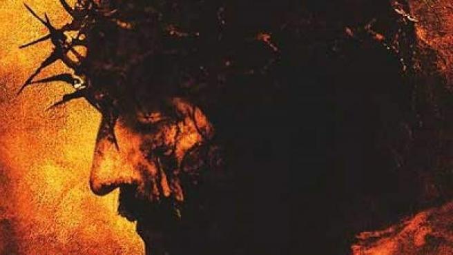 Cartel de la película 'La pasión de Cristo'.