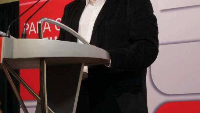 El Ministro De Justicia, Francisco Caamaño, En Un Mitin Del PSOE En Ares.