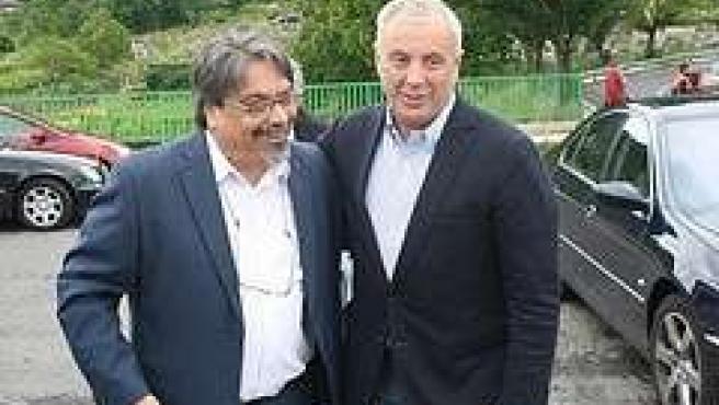 El Secretario Xeral Del Psdeg, Pachi Vázquez, En Lobios (Ourense).