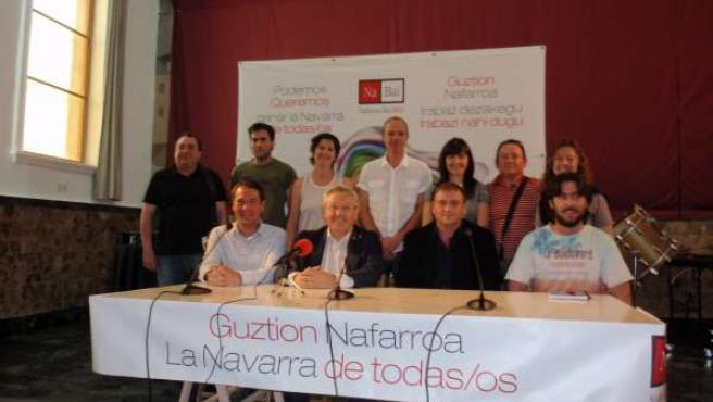 Acto Electoral De Nafarroa Bai 2011 En Villafranca.