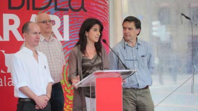 Aintzane Ezenarro, Con Iosu Murgia Y Felipe Urkidi