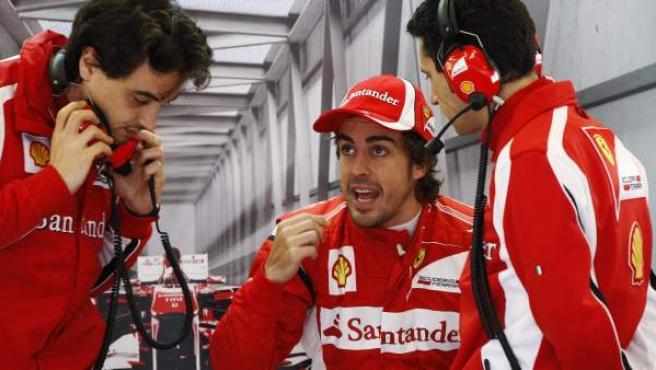 Alonso, en Turquía.