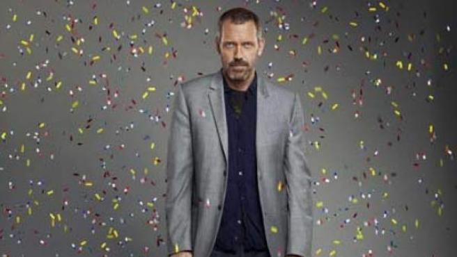 El actor Hugh Laurie, protagonista de la serie 'House', en una imagen promocional de la serie.