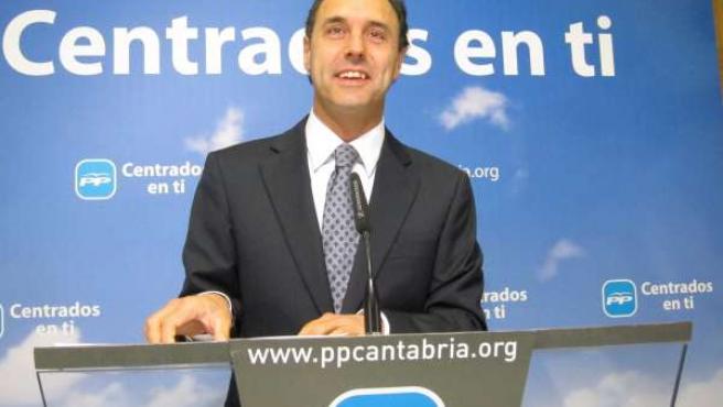 El Candidato Regional Del PP, Ignacio Diego