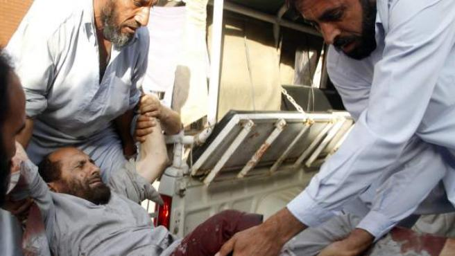 Uno de los heridos del primer atentado en venganza por la muerte de Bin Laden.