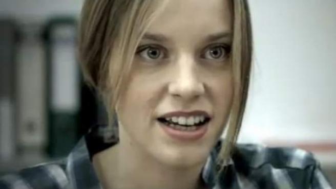 Carolina Bang en el largometraje '036'.