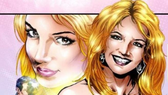 Britney Spears, en la portada del cómic sobre su vida.