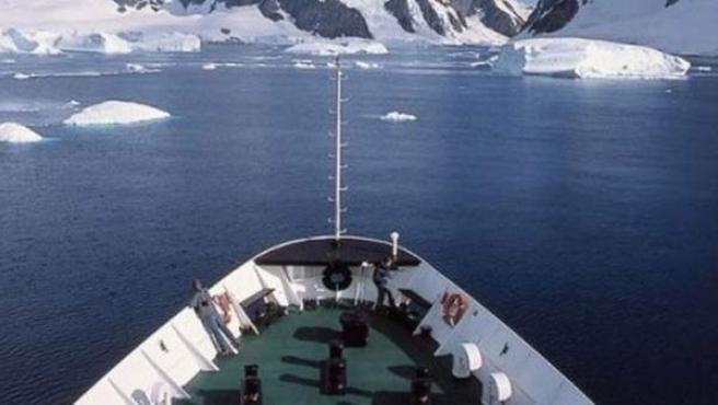Navegando por el extremo sur.