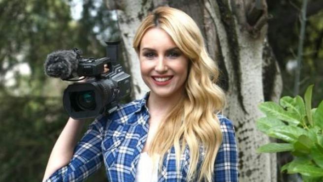 La presentadora Berta Collado.