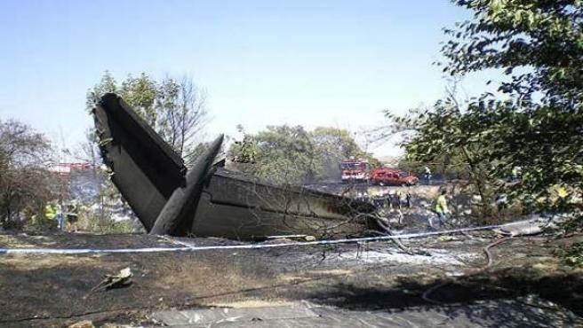 El vuelo 5022 de Spanair del 20 de agosto de 2008 entre Madrid y Gran Canaria sufrió un accidente inmediatamente después del despegue en el que murieron 154 personas.