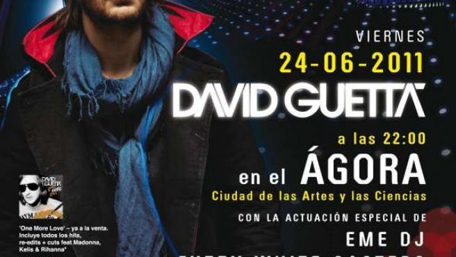 David Guetta Actuará En El Ágora