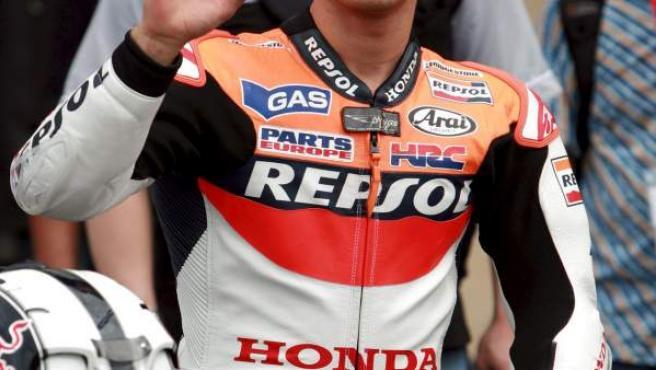 El piloto de Honda Dani Pedrosa.