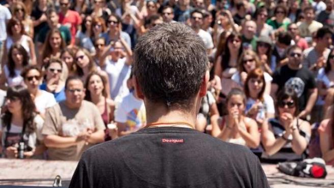 Ivan Ferreiro En Murcia, Participando En 'Tenemos Un Grupazo'