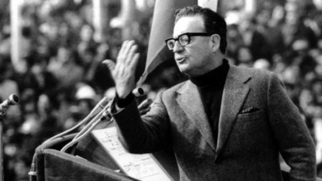 Imagen de archivo de Salvador Allende.