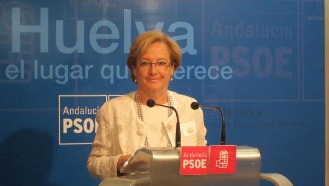 La Candidata Socialista En Huelva, Petronila Guerrero.