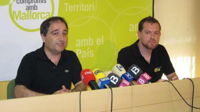 Antoni Alorda Y David Abril.