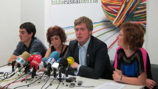 Martínez De Eulate, Bakartxo Ruiz, Maiorga Ramírez Y Eva Aranguren.