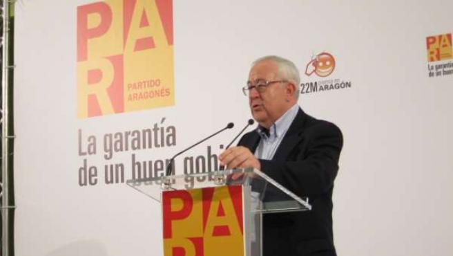 El Presidente Del PAR, José Ángel Biel